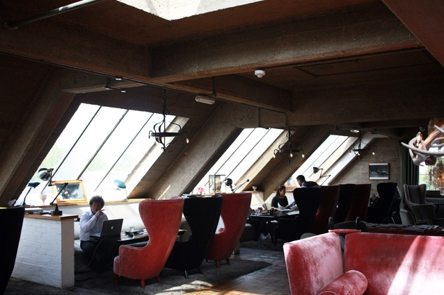 The private members club at Shoreditch House by Tom Dixon.