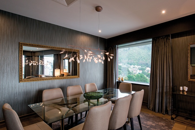 One of the premium suites. Colour tones remain within  a classic golden and earthy spectrum.