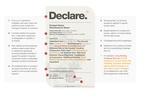 Toxic declaration