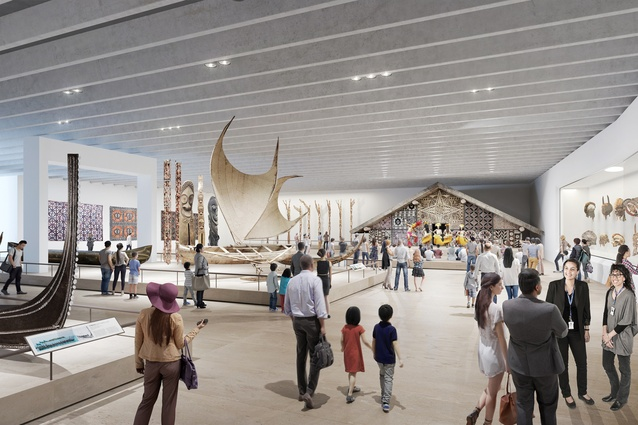 The proposed redevelopment of the Australian Museum, masterplanned by Hames Sharley, will provide the museum with 20,000 square metres of public floor space.