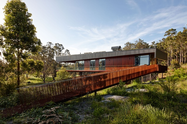 Nannup Holiday House by Iredale Pedersen Hook Architects.