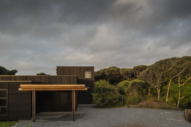 Housing category finalist: Peka Peka House II, Kapiti Coast by Herriot + Melhuish: Architecture (HMA).