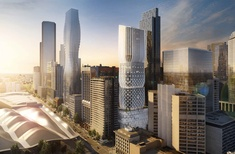 Zaha Hadid's first Melbourne tower approved