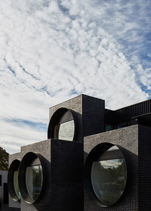 Cirqua Apartments by BKK Architects.