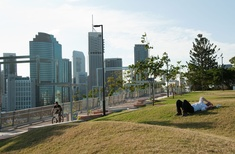 Kangaroo Point Park's artwork