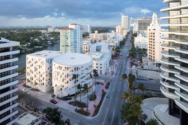 Faena Forum in Miami, USA by OMA (2016).