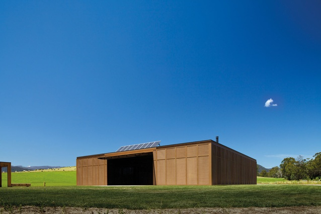 Narbethong Community Hall by BVN Architecture.