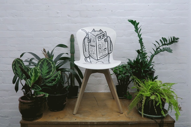 The Reading chair.