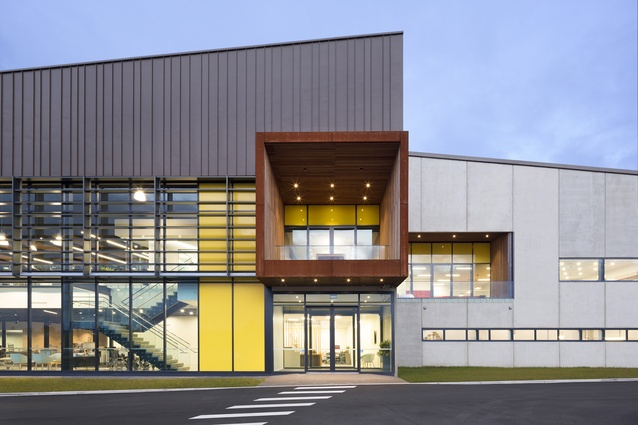 Commercial winner: CUBRO, Tauranga by Wingate Architects.