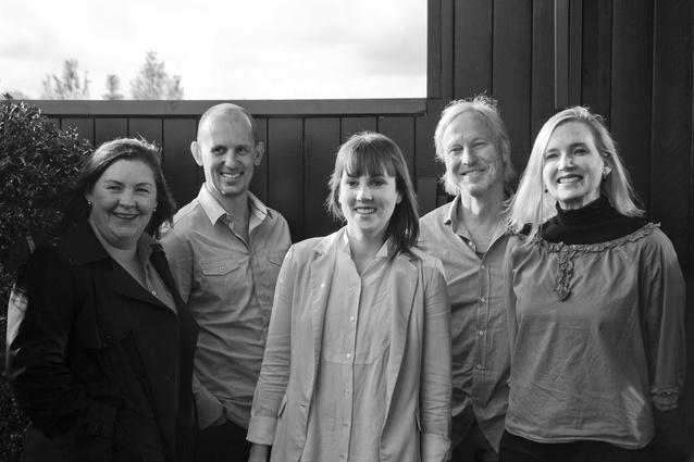The 2013 Houses Awards jury (from left) Debbie Ryan, Jon Clements, Katelin Butler, Peter Stutchbury and Alice Hampson.