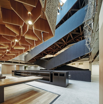 Melbourne School of Design by John Wardle Architects and NADAAA in collaboration