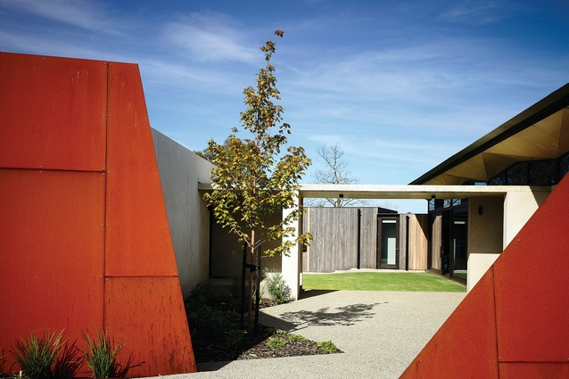 Main Ridge Residence (Vic) by McAllister Alcock Architects.