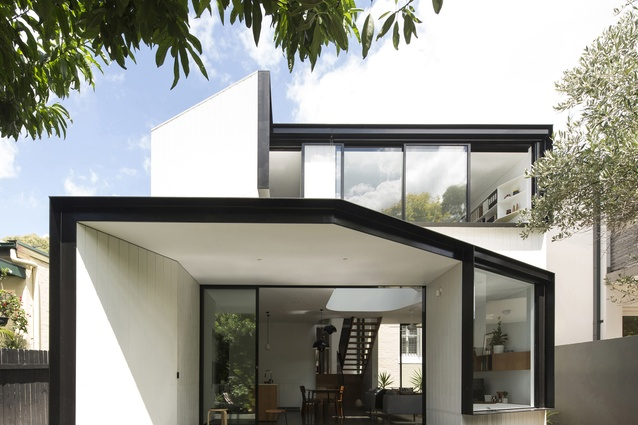 Unfurled House by Christopher Polly Architect.