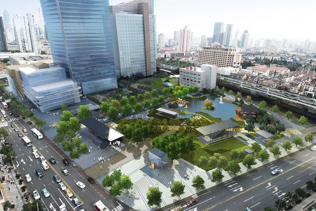 Australian landscape architecture in china architectureau for Landscape construction services adelaide