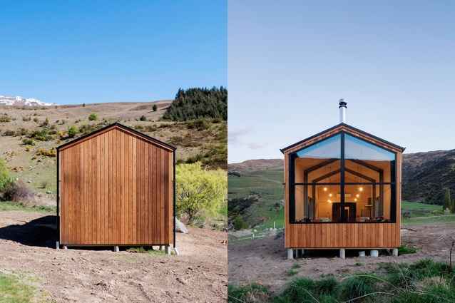Small Project Architecture Award: Cardrona Hut by RTA Studio.