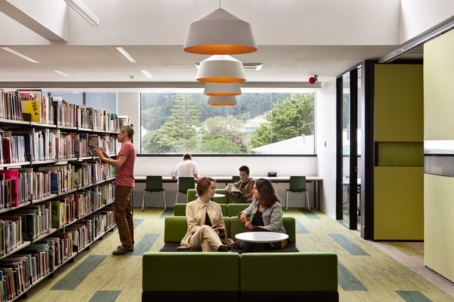 Education Award: Massey University Wellington Library by Athfield Architects.