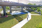 Cox and Aspect designs for Melbourne sky rail revealed