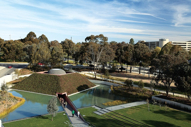 The Australian Garden and New Entry at the National Gallery of Australia by McGregor Coxall