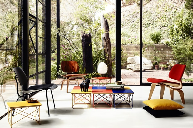 Herman Miller Select Editions in the Eames House (Case Study House No.8), Los Angeles.