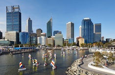 New order: Elizabeth Quay, Perth