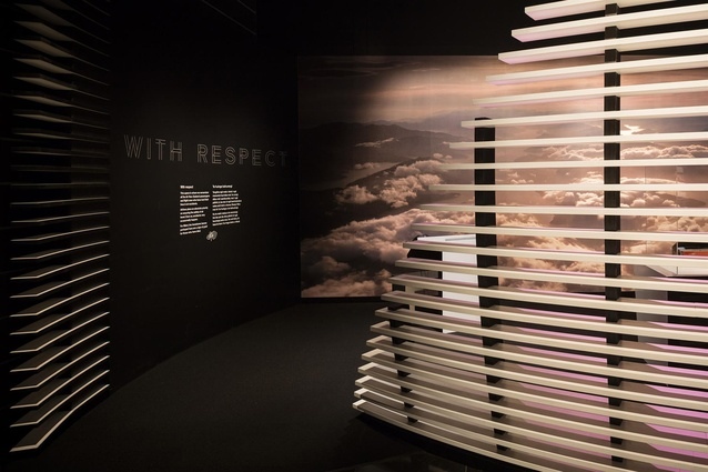 Finalist: Installation – Air New Zealand 75 Years (Auckland) by Workshop e.