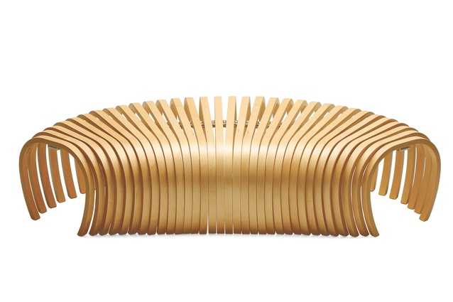 Ribs Bench by Stefan Lie