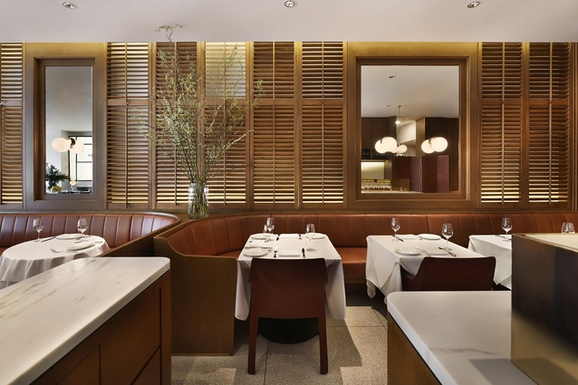 Luke's Oyster Bar & Chophouse by Hassell