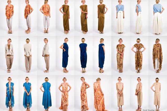 Nicole Wesseling's Japanese-inspired clothing range, Zen.