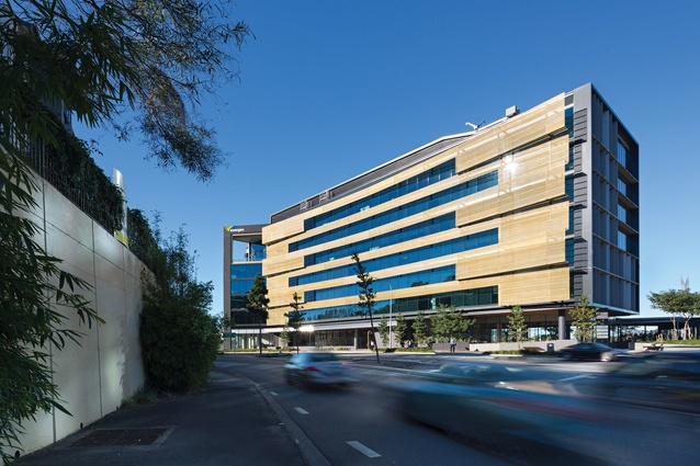 Energex Headquarters by Cox Rayner Architects in association with BVN Donovan Hill.