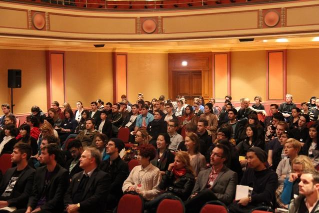 Student Congress keynote address  at Newcastle City Hall.