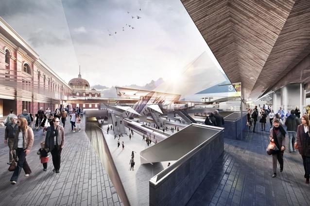 Flinders Street Station Designs Unveiled Architectureau
