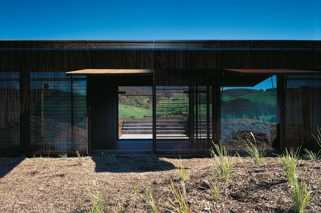 Yarra Valley House by Sean Godsell Architects.