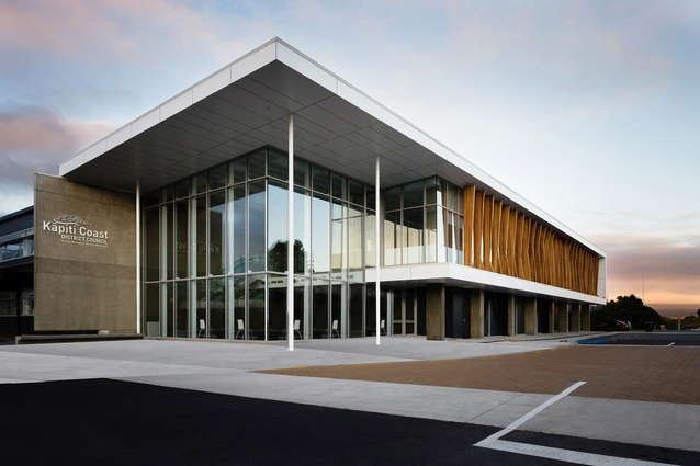 Wellington region awards architecture now for Commercial building architect