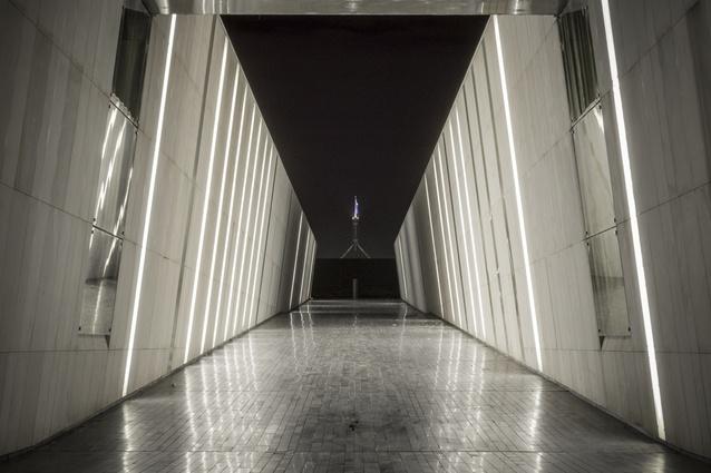 Public space in Canberra.