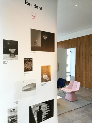 Images and information document Resident's design and manufacturing process throughout the years at their showroom.