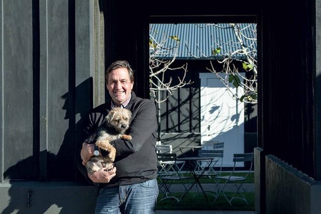 Hawkes Bay-based architectural designer, Andy Coltart.