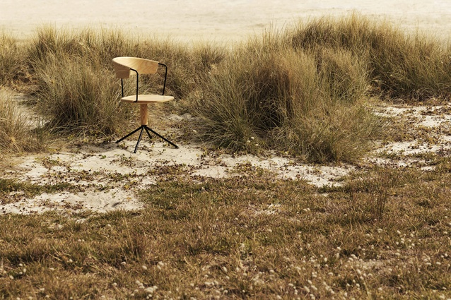 "Uncino Chair in Natural Ash by Mattiazzi I $1577 from <a  href=""https://simonjamesdesign.com/mattiazzi/uncion-chair"" target=""_blank""><u>simonjamesdesign.com</u></a>. Image by Toaki Okano."