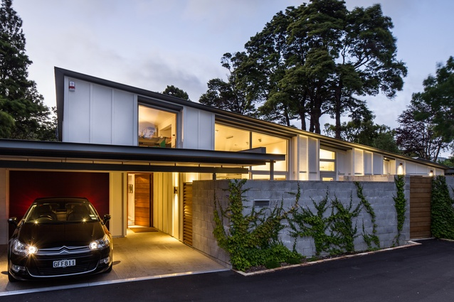 Housing category finalist: Craig House, Upper Hutt, Wellington by Craig & Coltart Architects.