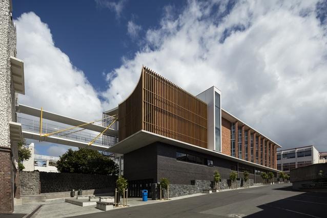 Education Award: Augusta Building, Auckland Grammar School, Epsom by Architectus.