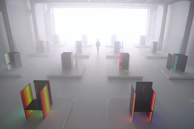 S.F_Senses of the Future by Tokujin Yoshioka and LG.