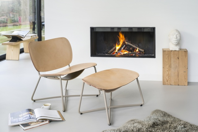 Miller lounge chair and ottoman from Functionals
