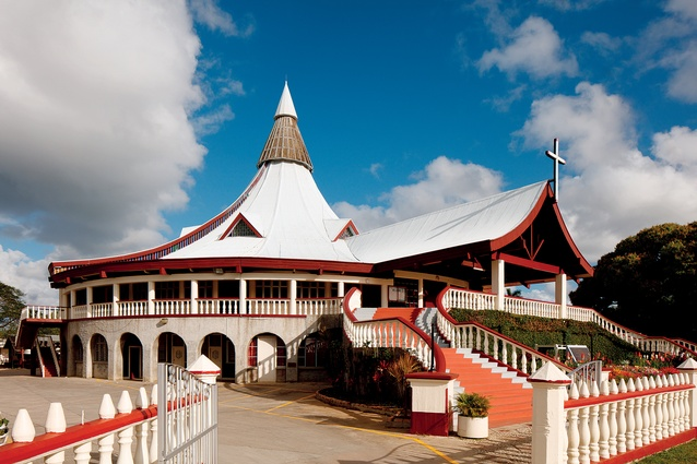 Basilica of Saint Anthony of Padua in Nuku'alofa, Tonga.