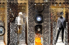 Le Labo Bubble screen in Hermès boutique