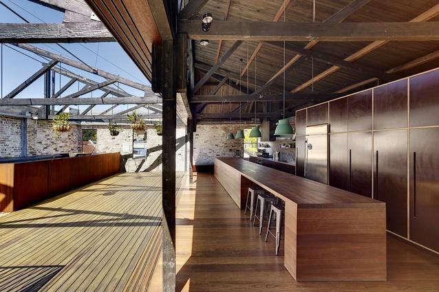 Lilyfield Warehouse by Virginia Kerridge Architects.