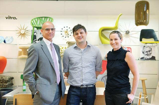 Speakers (from left): Paul Spiro, Dan Cox and Rachel Luchetti.