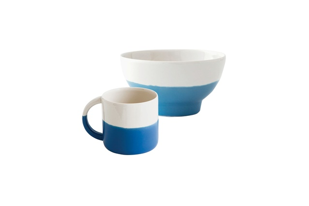 Tides Mug and Breakfast Bowl by Nest | $24 each.