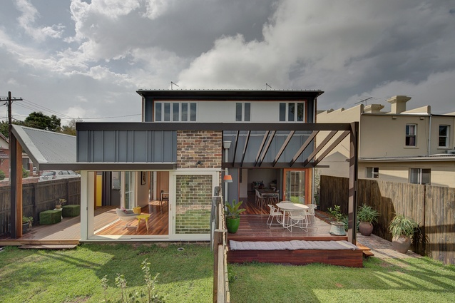 Three Marrickville Houses by David Boyle Architect.