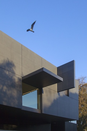 The Australian Pavillion at the Giardini della Biennale by Denton Corker Marshall.