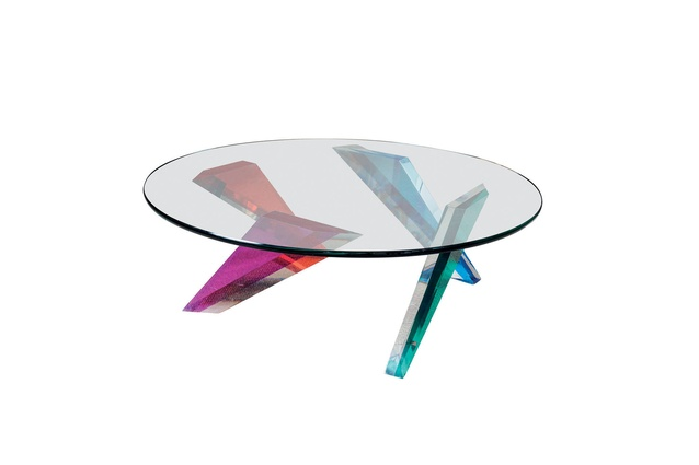 Lucite and Glass Coffee Table I $4600 from