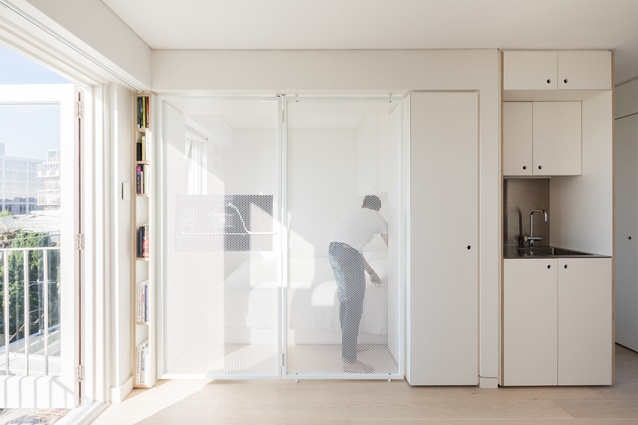 5S apartment by Nicholas Gurney.